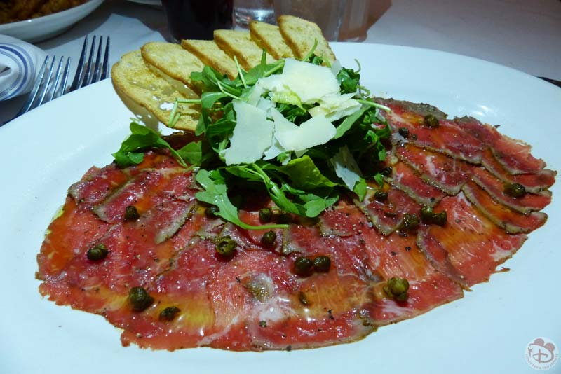 Blue Star Angus Carpaccio - BOATHOUSE at Disney Springs