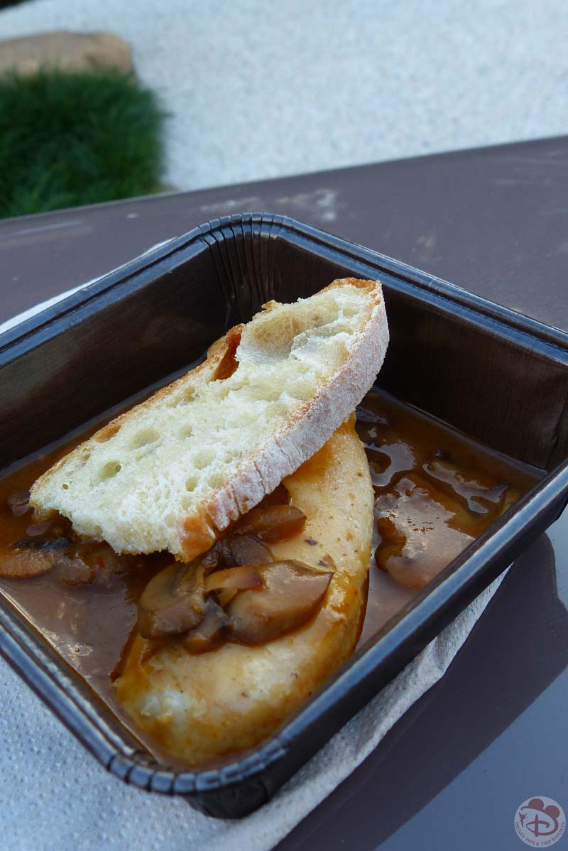 Filetto di Pollo con Funghi al Marsala - Epcot Food & Wine Festival