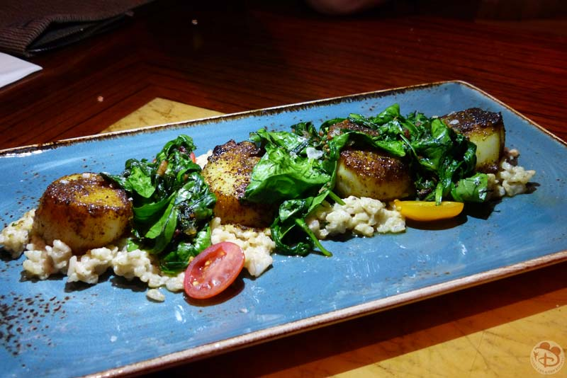 Garam Masala-Spiced Sea Scallops - Jiko - The Cooking Place - Animal Kingdom Lodge