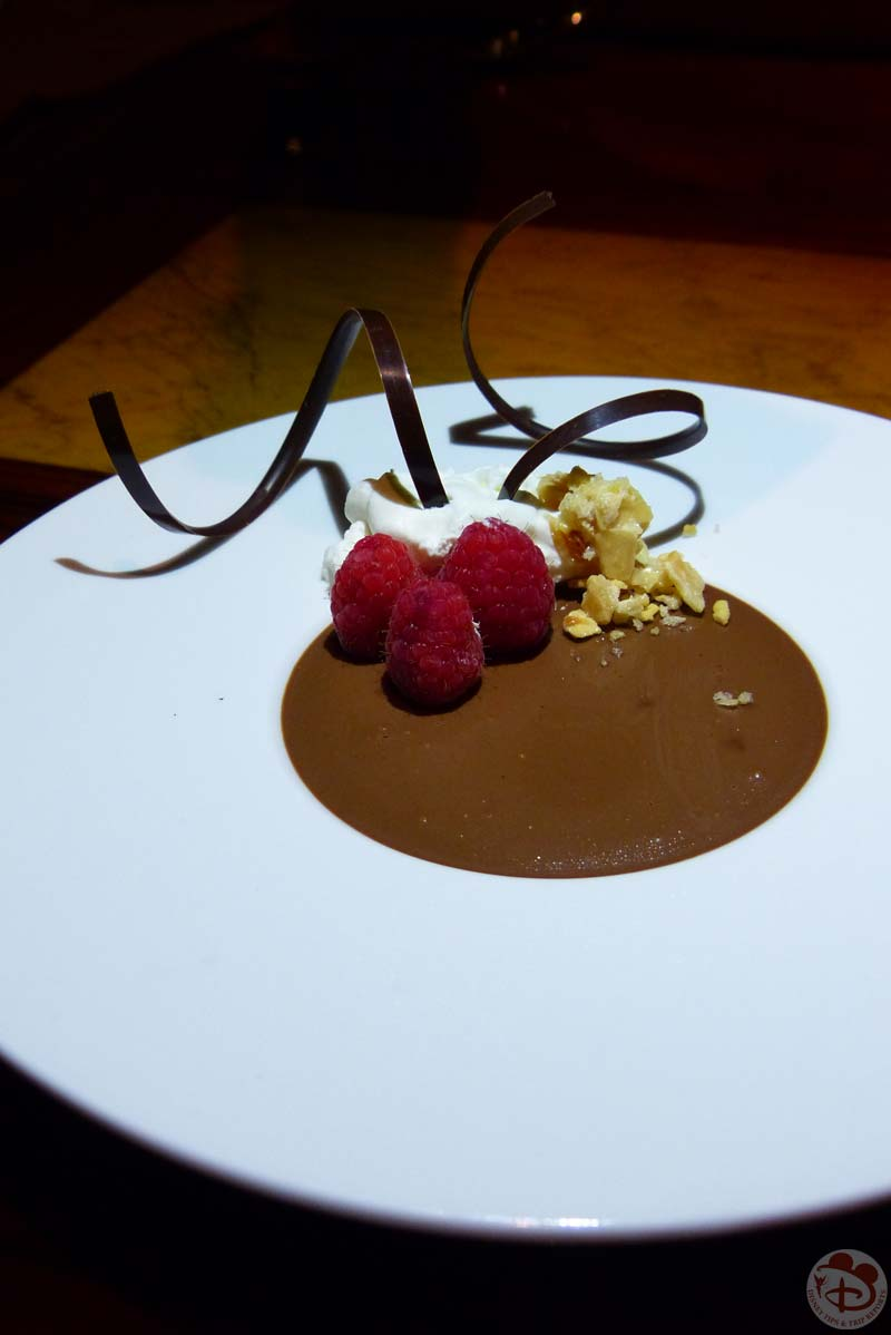 Ghanaian Chocolate and Kenyan Coffee Pot de Crème - Jiko - The Cooking Place - Animal Kingdom Lodge