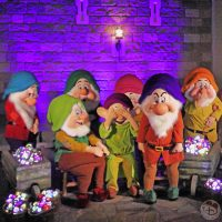 Seven Dwarfs at Mickey's Not-So-Scary Halloween Party