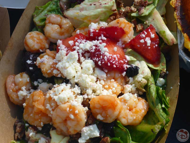 Shrimp Wrecked Salad - Typhoon Lagoon