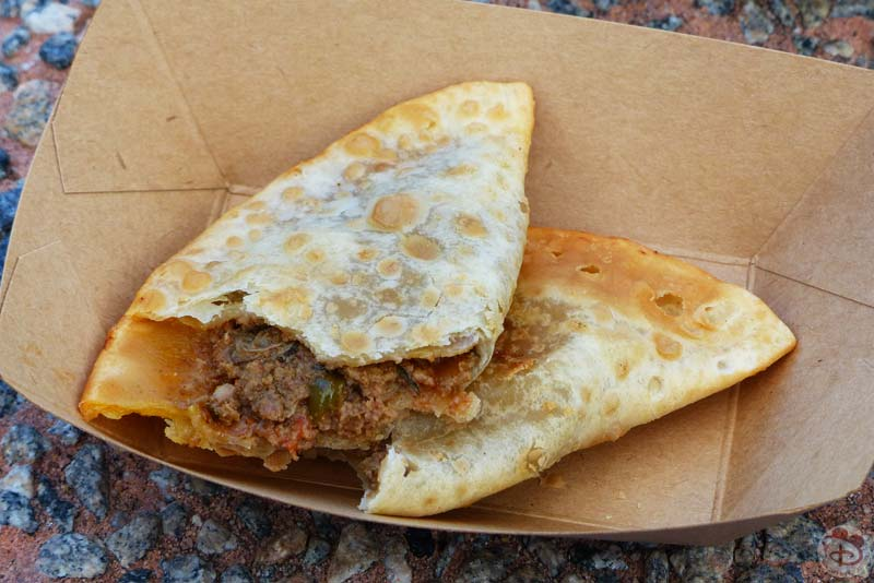 Beef Empananda - Patagonia Booth - Epcot Food & Wine Festival 2015