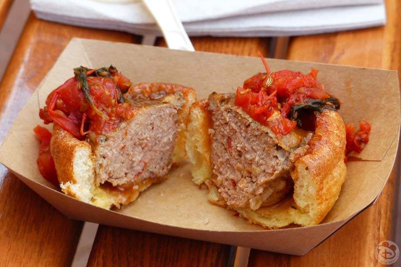 Lamb Meatball - New Zealand Booth - Epcot Food & Wine Festival 2015