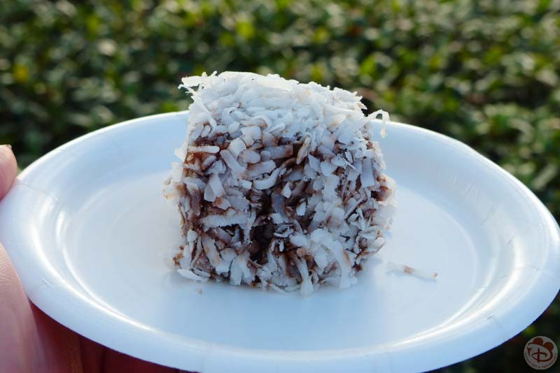 Lamington - Australia Booth - Epcot Food & Wine Festival 2015