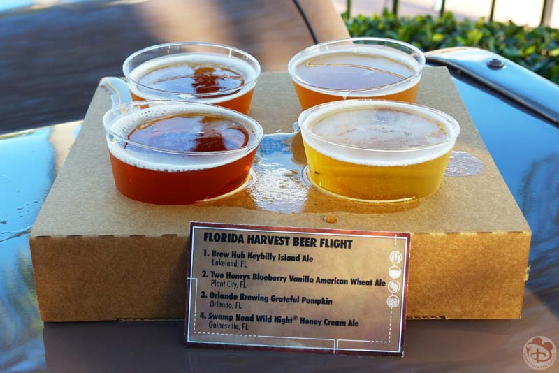 Florida Beer Flight - Epcot Food & Wine Festival 2015