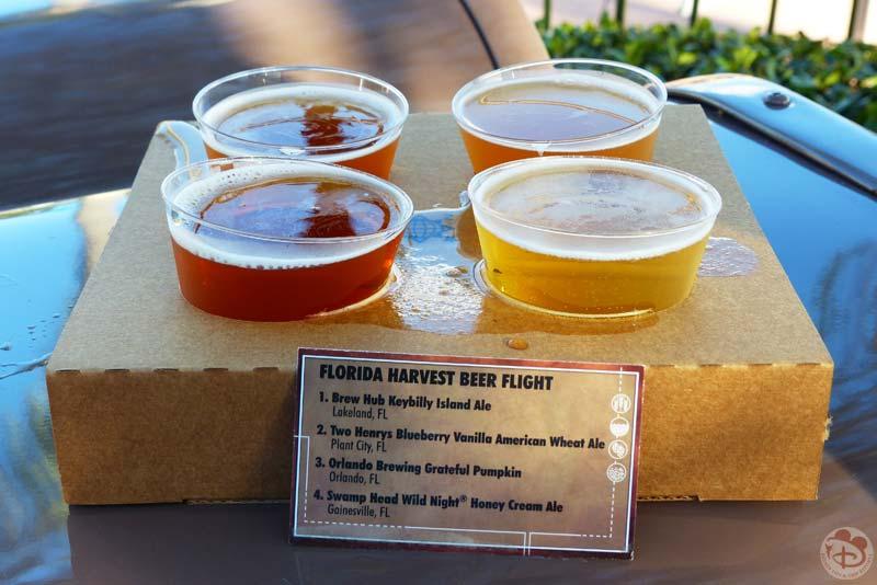 Florida Beer Flight - Epcot Food & Wine Festival 2015