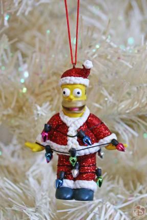 Homer Simpson Christmas Ornament