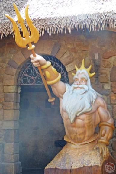 King Triton Statue - Magic Kingdom