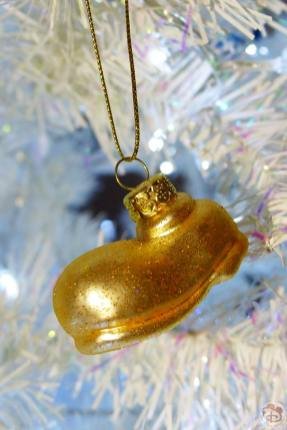 Mickey Mouse Shoe Disney Christmas Ornament