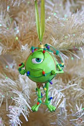 Mike Wazowski Disney Christmas Ornament