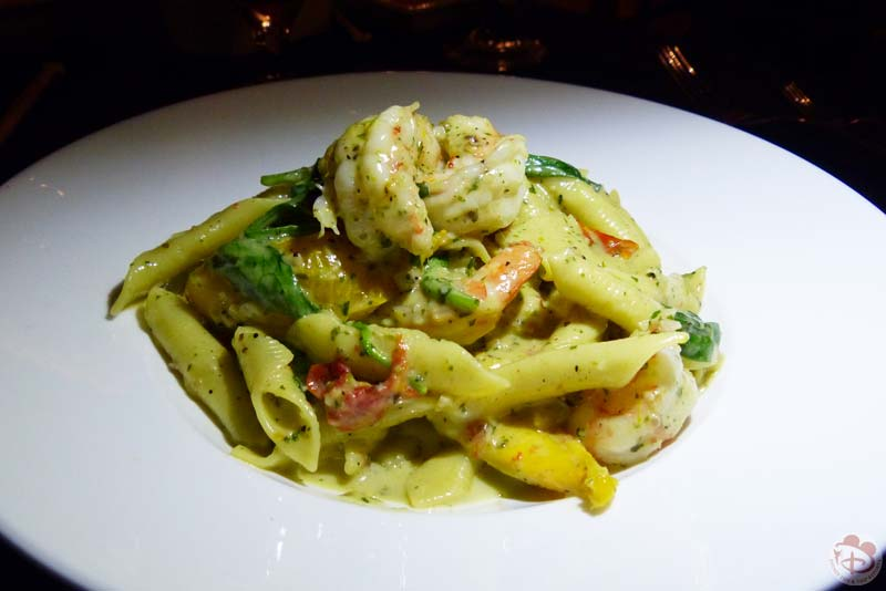 Wild Caught Shrimp and Garganelli Pasta - Narcoossee's at Grand Floridian