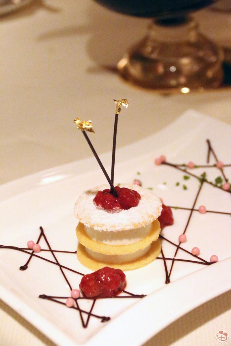Vanilla Bean Panna Cotta with Wild Strawberries