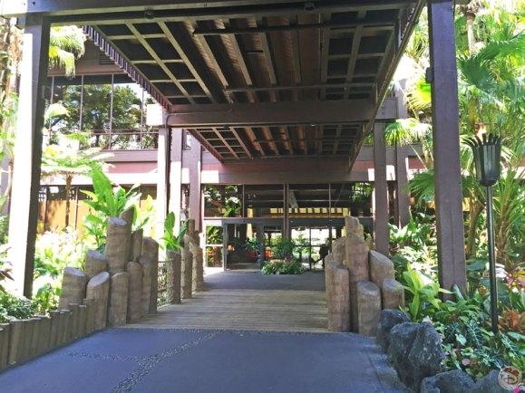 Disney's Polynesian Village Resort - Entrance