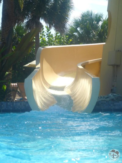 Pirate's Plunge Pool Slide