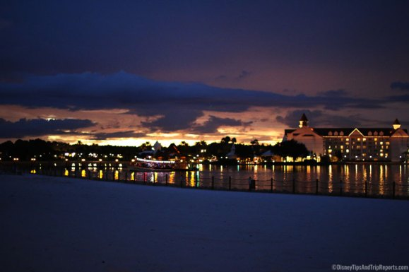 Evening on Disney Poly Beach