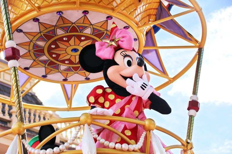Minnie Mouse - Festival of Fantasy Parade - Magic Kingdom
