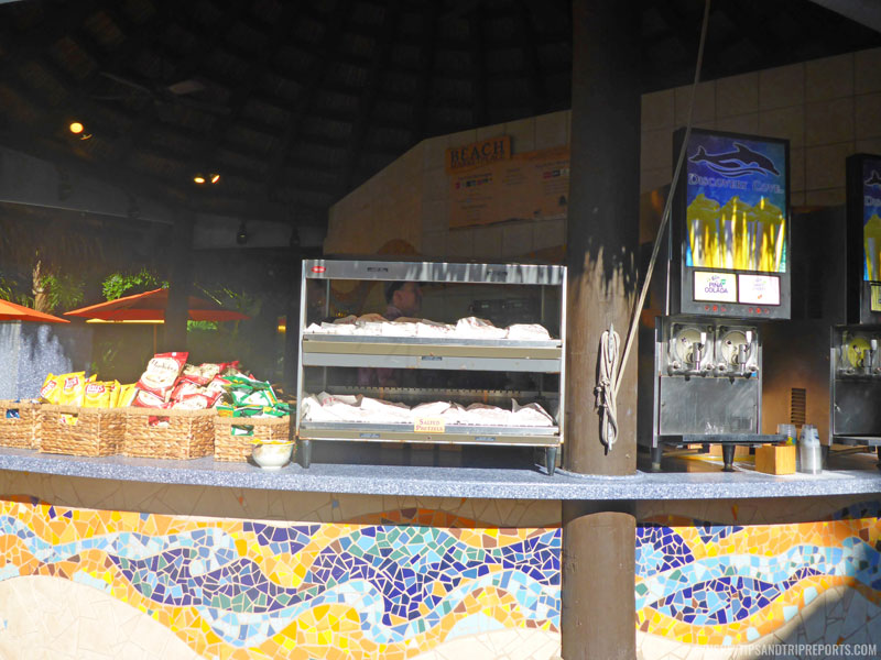 Refreshment Kiosk at Discovery Cove