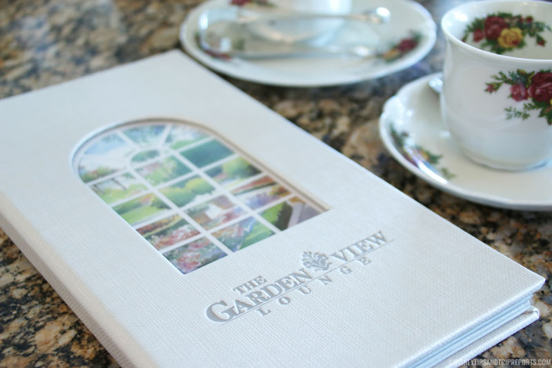 Afternoon Tea at The Garden View Lounge