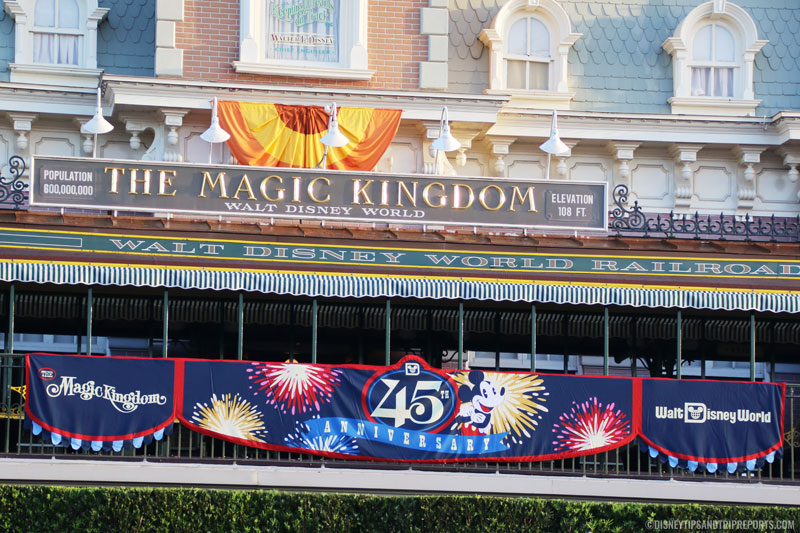 45th Anniversary Rope Drop at Magic Kingdom