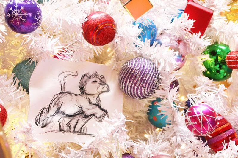 Disney's Art of Animation Resort Christmas Trees + Decorations