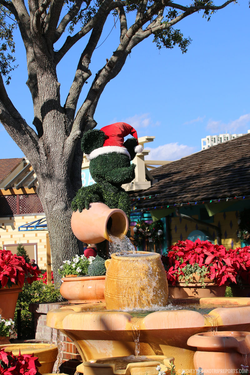 Disney Springs Christmas Decorations