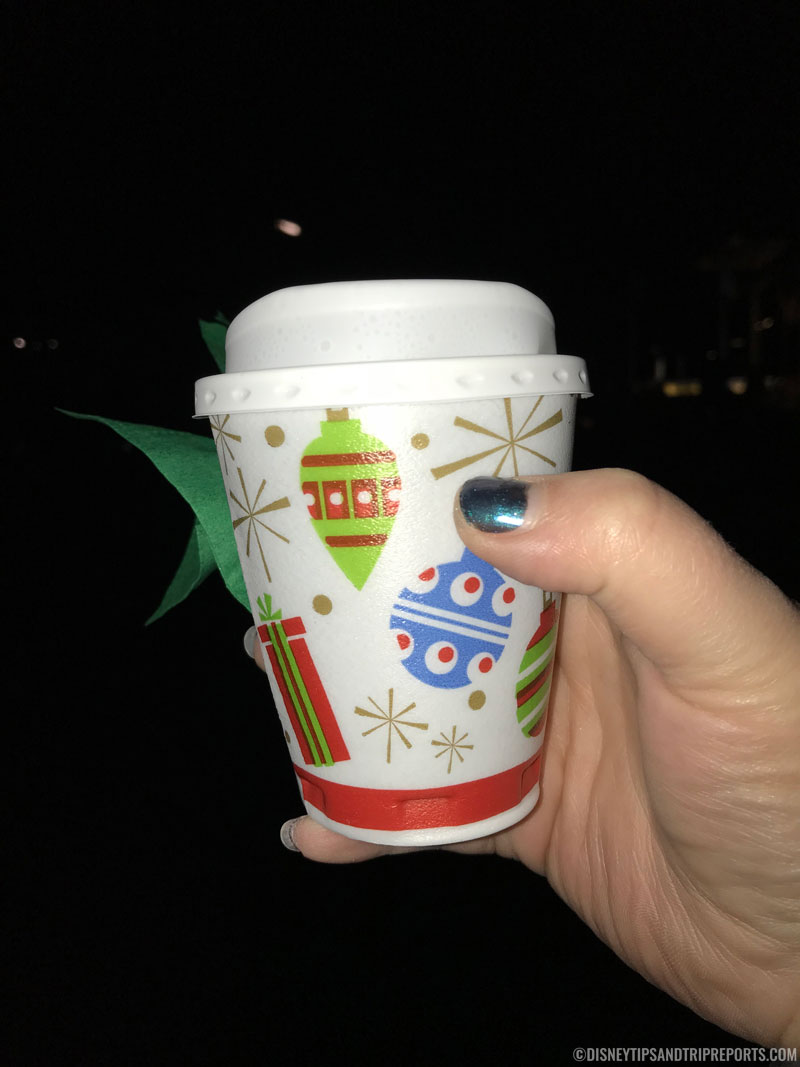 Hot Cocoa at Mickey's Very Merry Christmas Party