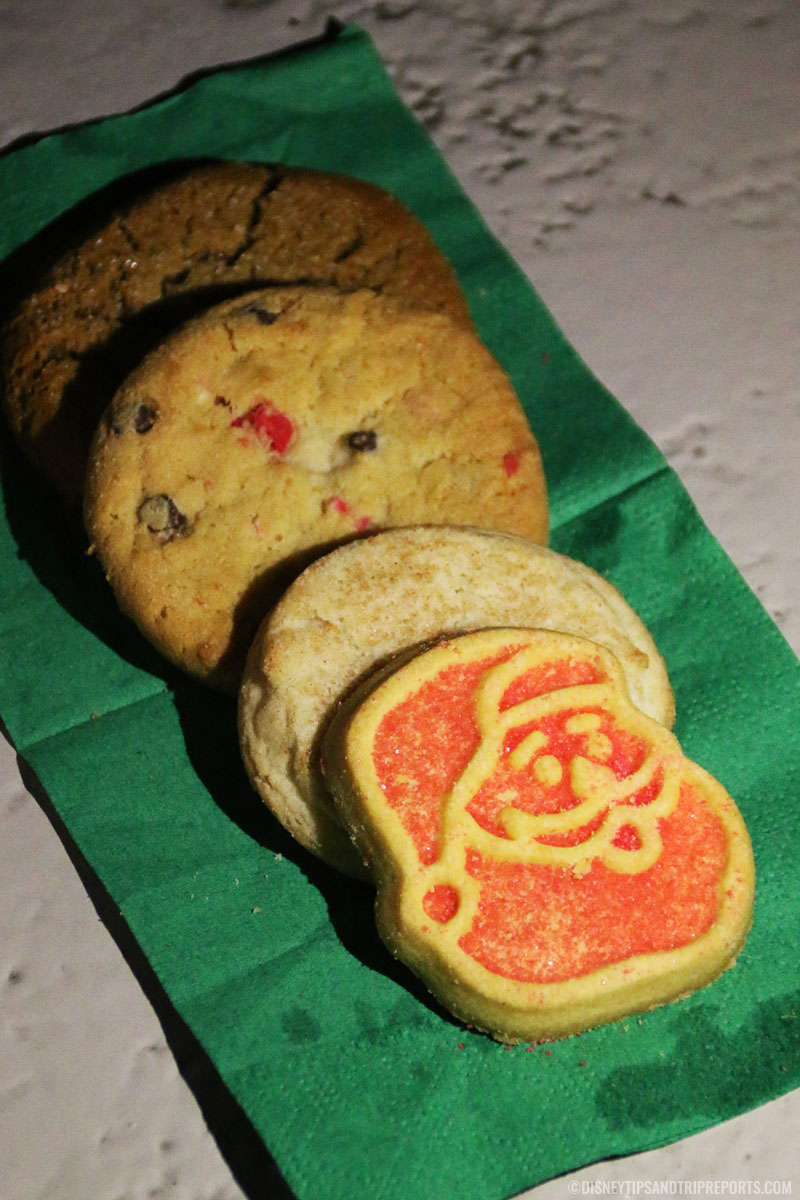Free cookies from Mickey's Very Merry Christmas Party, Magic Kingdom
