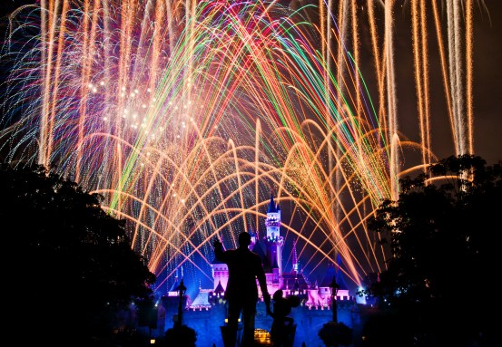 Disneyland Magical Fireworks - CHEAP-O® 77mm ND Filter