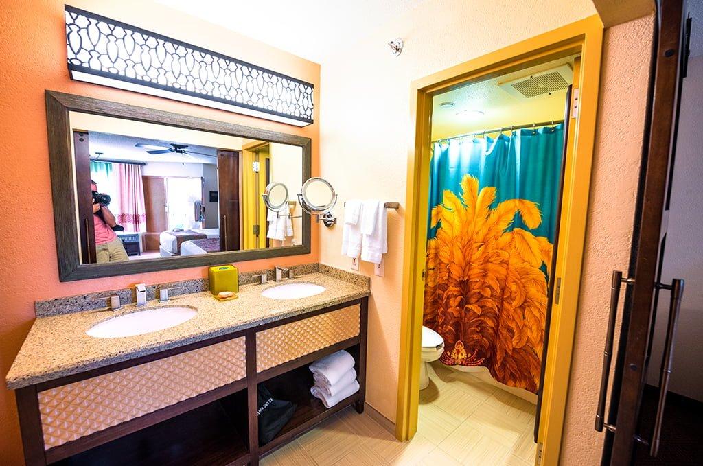 Caribbean Beach Resort Remodeled Rooms Disney World Sinks