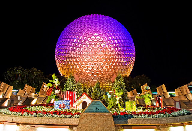 Epcot New Years Eve 2018