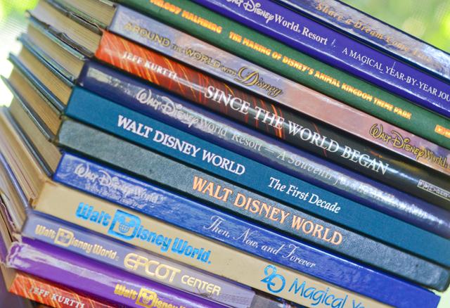 Disney theme park books