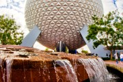 Spaceship Earth Fountain