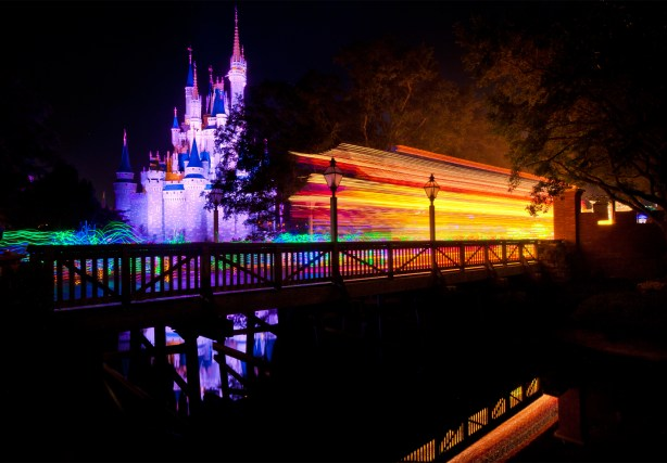 Main Street Electrical Parade and Cinderella Castle Photo