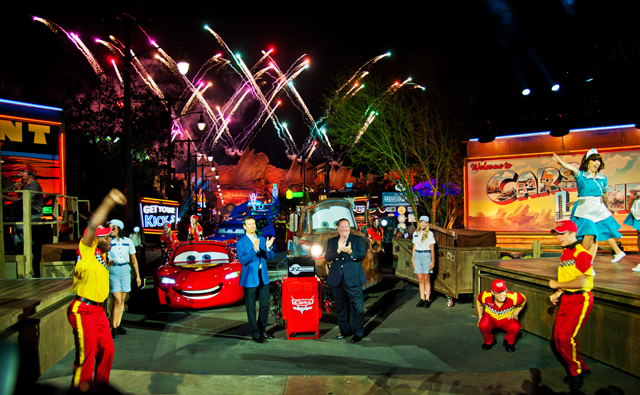 Cars Land grand opening celebration