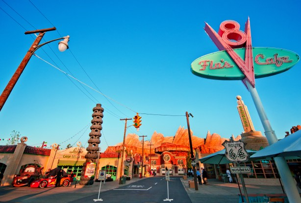 Cars Land Sunset Photo