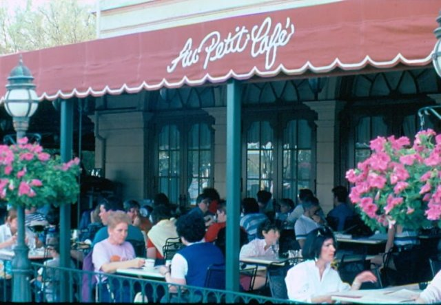 Au Petit Cafe 2 in 3-87 - Patricia Brown