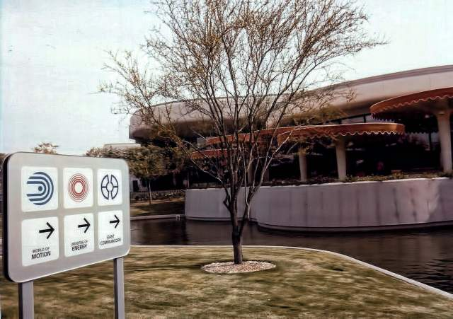 Old Epcot Signs - Nora Martinez