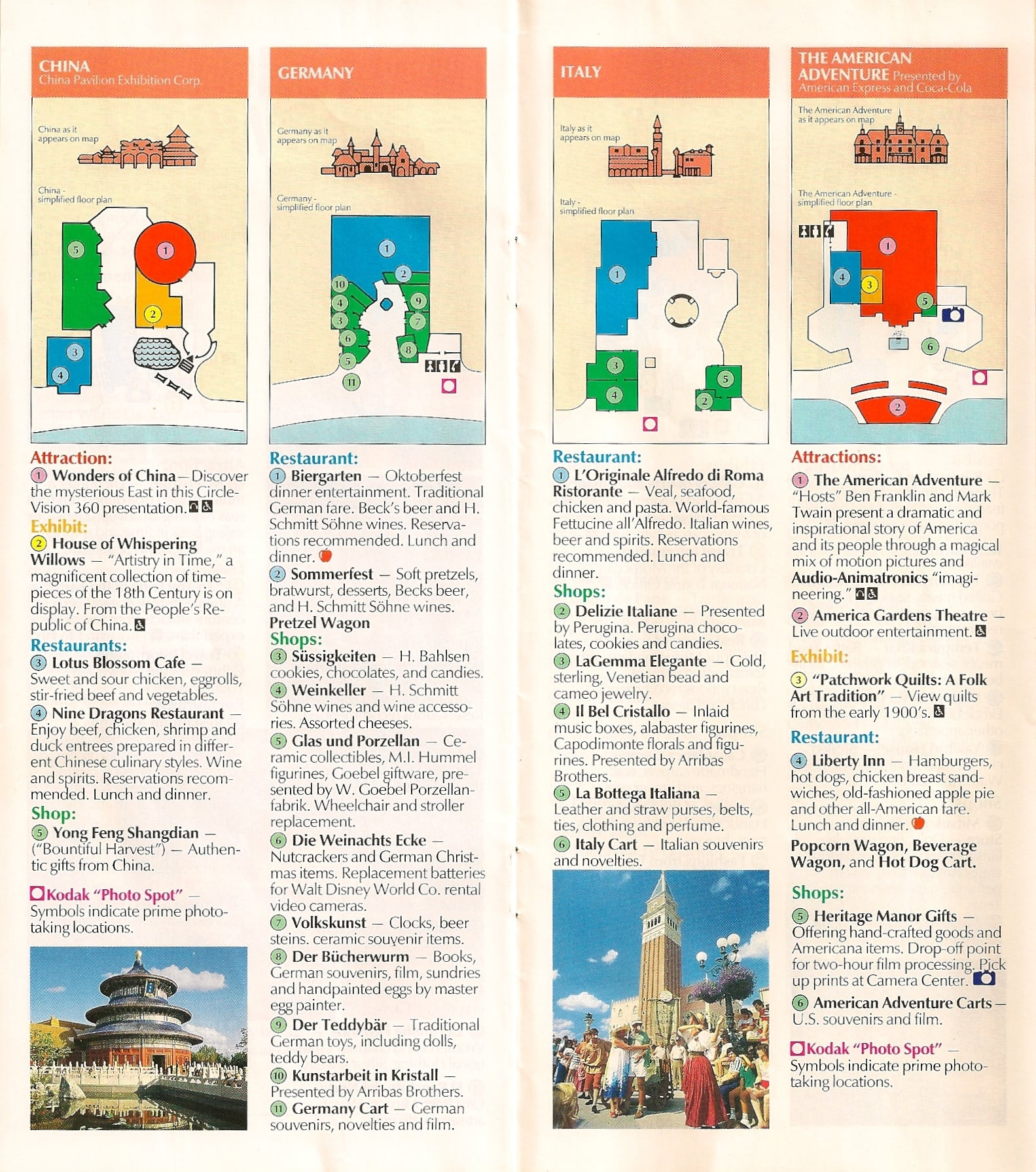 EPCOT Center Tickets & Maps - Disney Tourist Blog