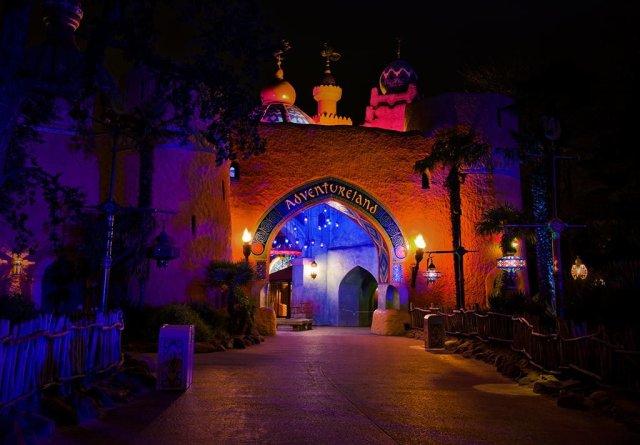 Adventureland Entrance 2