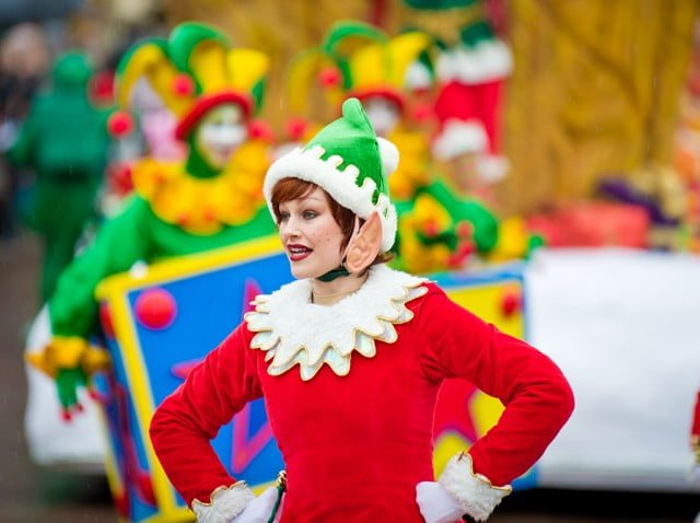 Christmas Cavalcade Female Elf