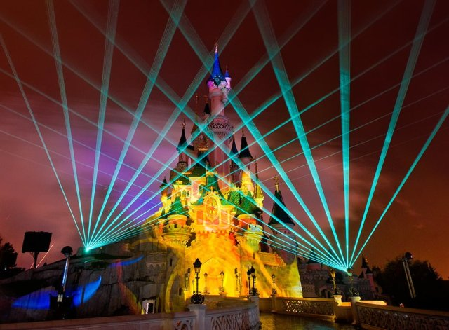 Disney Dreams Lasers