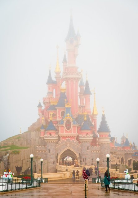 sleeping-beauty-castle-morning-fog