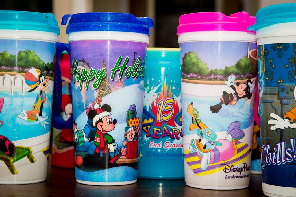 Walt Disney Parks Resort Rapid Fill Refillable 2019 Travel Mug Pink  WDW
