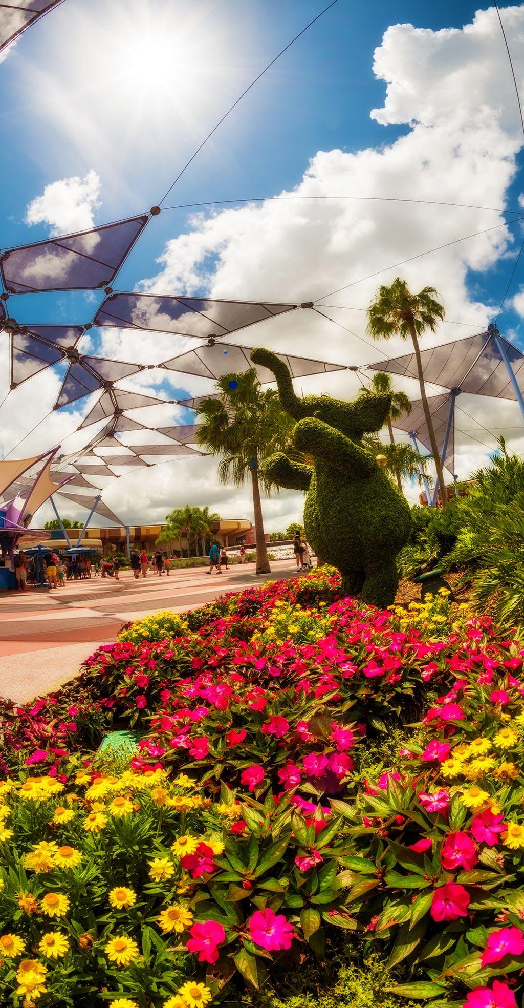 April 2018 at walt disney world disney tourist blog for Disney flower and garden festival
