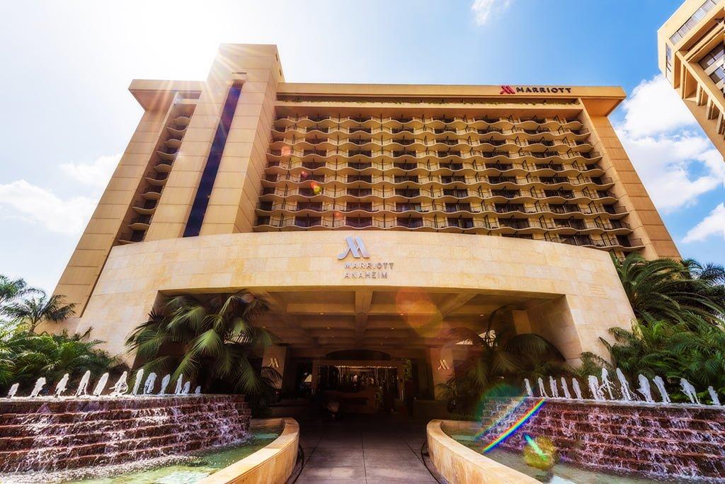Anaheim Marriott Hotel Review Disney Tourist Blog