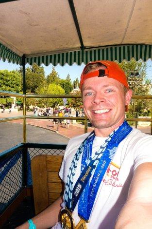 disneyland-half-marathon-10th-anniversary-rundisney-tom-bricker-selfie-omnibus