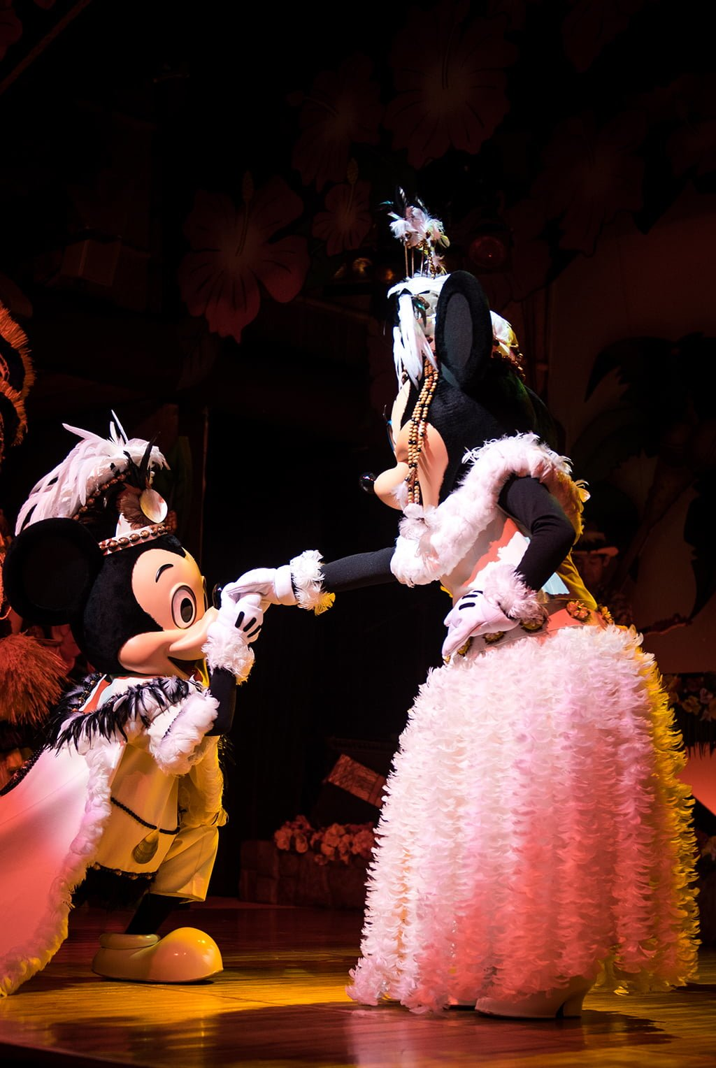Mickey Mouse Hawaiian Disney Character