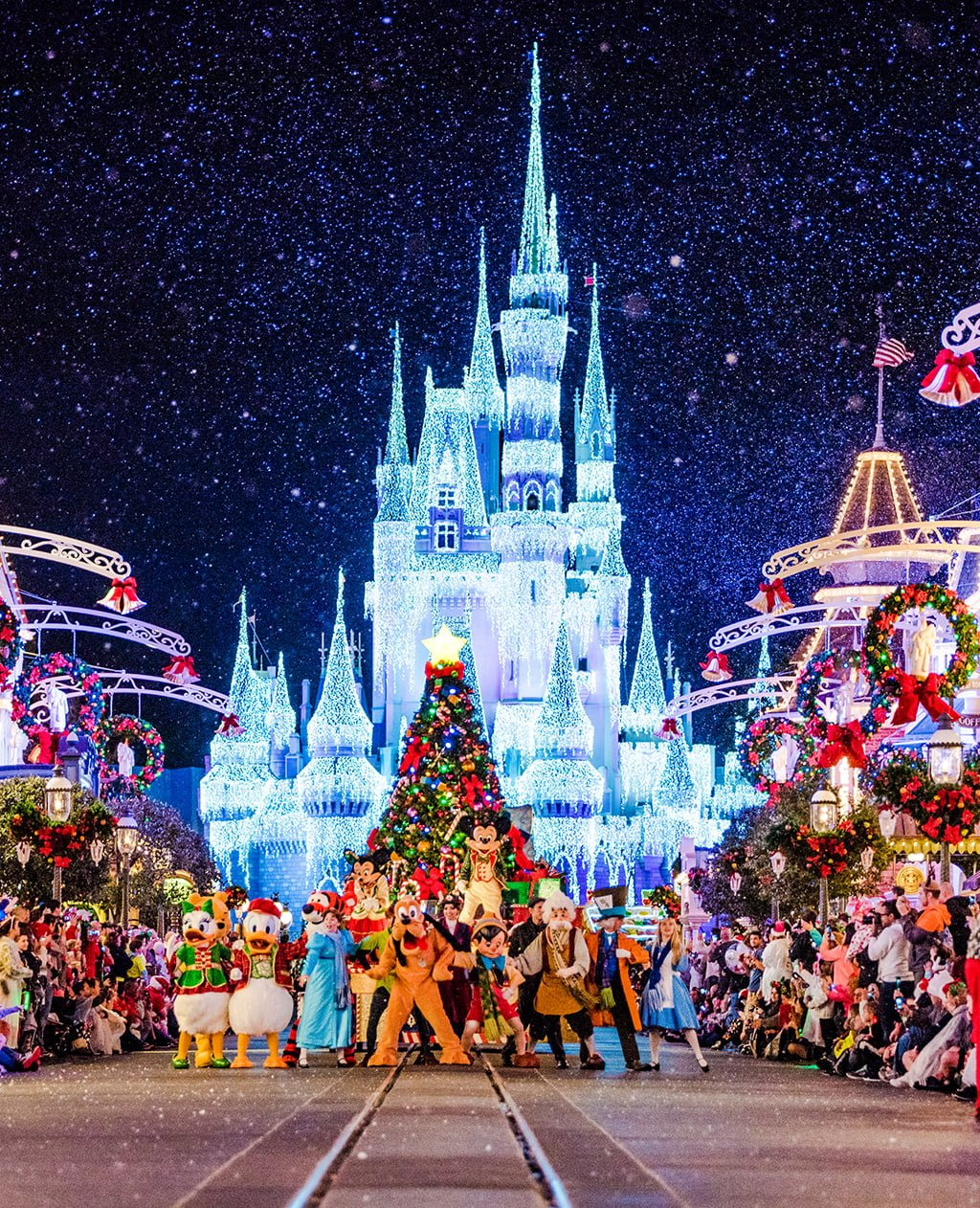 walt disney world christmas pictures 034 - Disney World Christmas Decorations 2017