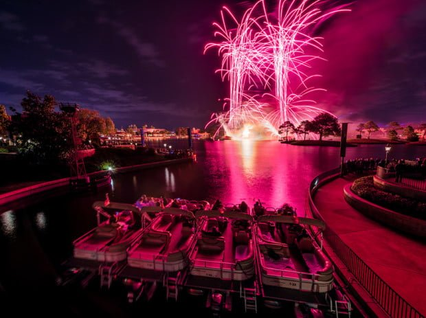 france-bridge-illuminations-fireworks-boat-cruise-epcot